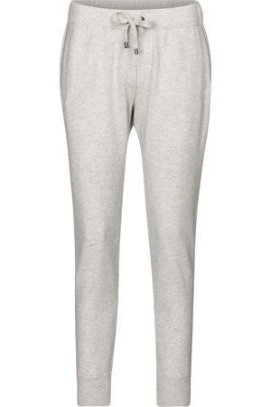 Brunello Cucinelli Embellished cashmere sweatpants