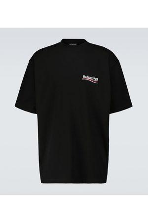 Balenciaga Political Campaign large-fit T-shirt