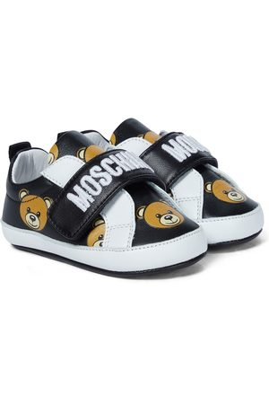 Moschino Baby leather sneakers