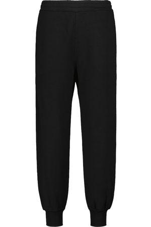 Alexander McQueen Logo cotton sweatpants