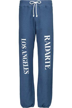 RODARTE Logo cotton sweatpants
