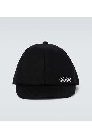 SACAI X KAWS wool cap