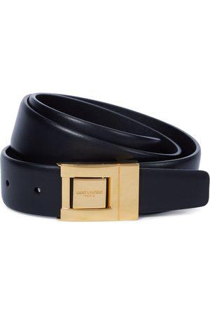 Saint Laurent Buckled leather belt