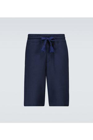Moncler Genius 5 MONCLER CRAIG GREEN cotton Bermuda shorts