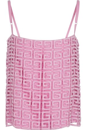 Givenchy 4G wool-blend camisole