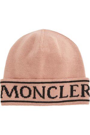 Moncler Logo wool beanie