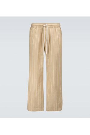 COMMAS Ottoman striped lounge pants