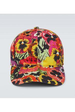 Loewe Pansy printed cap