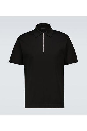 Givenchy Half-zipped cotton polo shirt