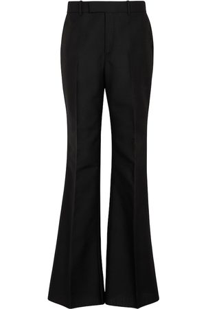 Gucci Wool and mohair flared pants