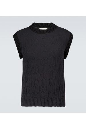 Jil Sander Knitted cotton vest