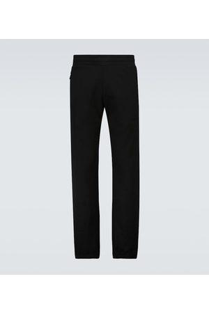 Moncler Brushed cotton fleece sweatpants