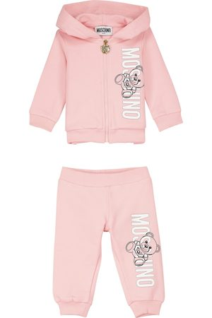 Moschino Baby Teddy hoodie and sweatpants set