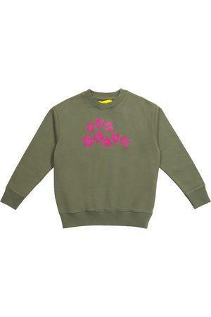 Off-White Kids Logo cotton sweatshirt