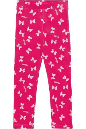 Moschino Printed stretch-cotton leggings