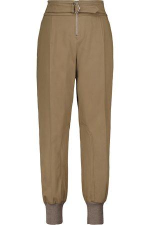 Chloé High-rise cotton pants