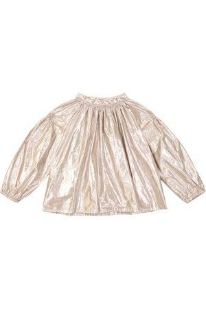 BONPOINT Habillee cotton-blend blouse