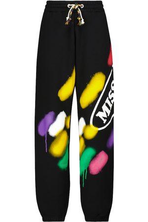 Palm Angels X Missoni printed drawstring sweatpants