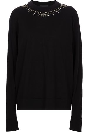 Givenchy Embellished wool sweater