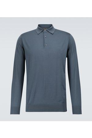 Loro Piana Ml long-sleeved wool polo shirt