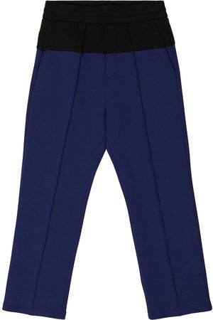 Emporio Armani Stretch cotton-blend jersey pants