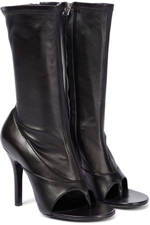 Givenchy Leather thong mid-calf boots