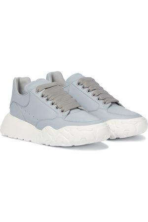 Alexander McQueen Court leather sneakers
