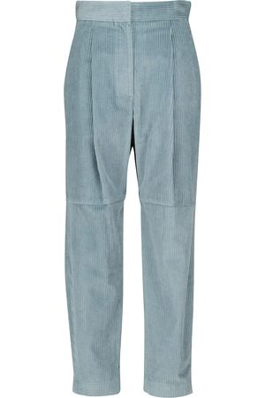 Brunello Cucinelli High-rise corduroy pants