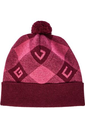 Gucci GG checked wool hat