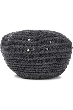 Brunello Cucinelli Wool, cashmere and silk beret