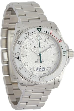 Gucci Dive 40mm stainless steel watch