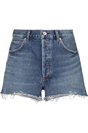 Citizens of Humanity Camilla high-rise denim shorts
