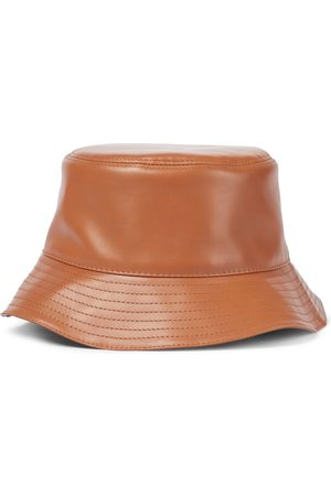 Loewe Anagram leather bucket hat