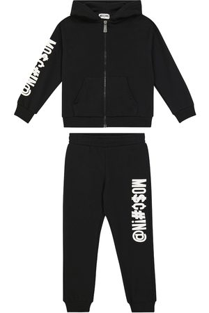 Moschino Stretch-cotton jersey hoodie and sweatpants