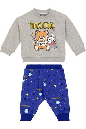 Moschino Baby sweatshirt and sweatpants set