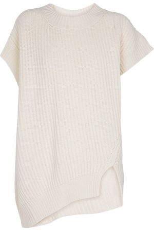 Stella McCartney Cashmere-blend ribbed-knit top
