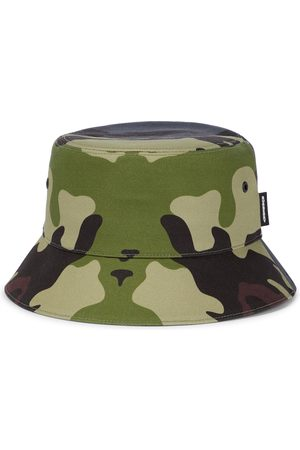 Burberry Camouflage cotton bucket hat