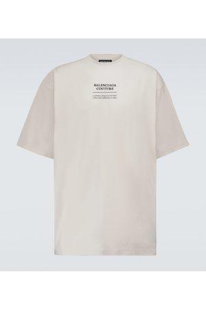 Balenciaga Boxy-fit cotton-blend T-shirt
