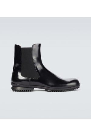 Maison Margiela Leather Chelsea boots