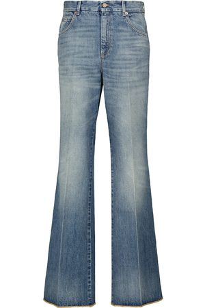 Gucci High-rise flared jeans