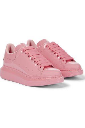Alexander McQueen Oversized patent leather sneakers