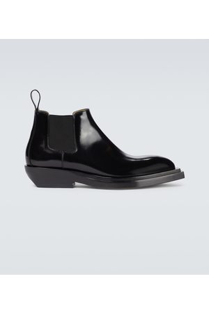 Bottega Veneta Chisel leather ankle boots