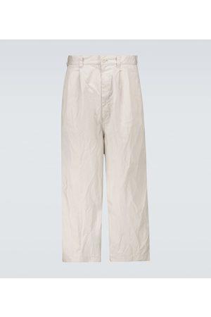 Comme des Garçons Cotton wide-leg pants