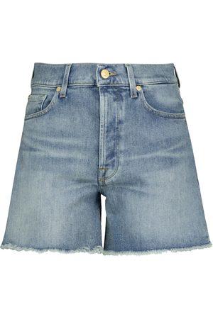 7 for all Mankind Billie high-rise denim shorts