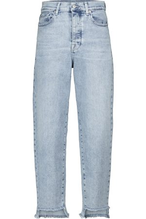 7 for all Mankind Dylan high-rise tapered jeans