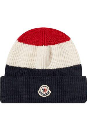 Moncler Men Hats - Tricolore Bobble Hat