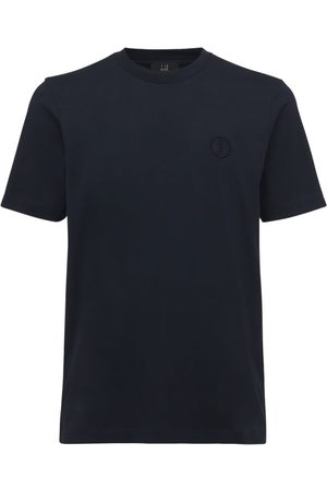 Dunhill Logo Embroidery Cotton T-shirt