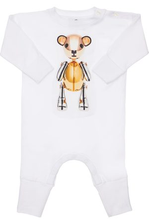 Burberry Boys Bodysuits & All-In-Ones - Bear Print Cotton Romper