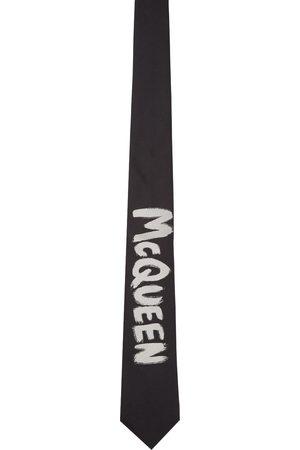 Alexander McQueen & Off- Exploded Graffiti Tie