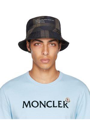 Moncler Genius 7 Moncler FRGMT Hiroshi Fujiwara Reversible Brown & Check Bucket Hat